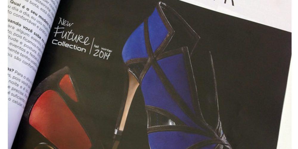 Anúncio Werner Calçados na Revista Lançamentos