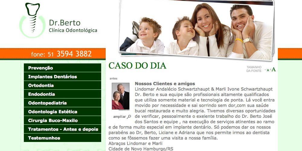 Dr. Berto – Clínica Odontológica