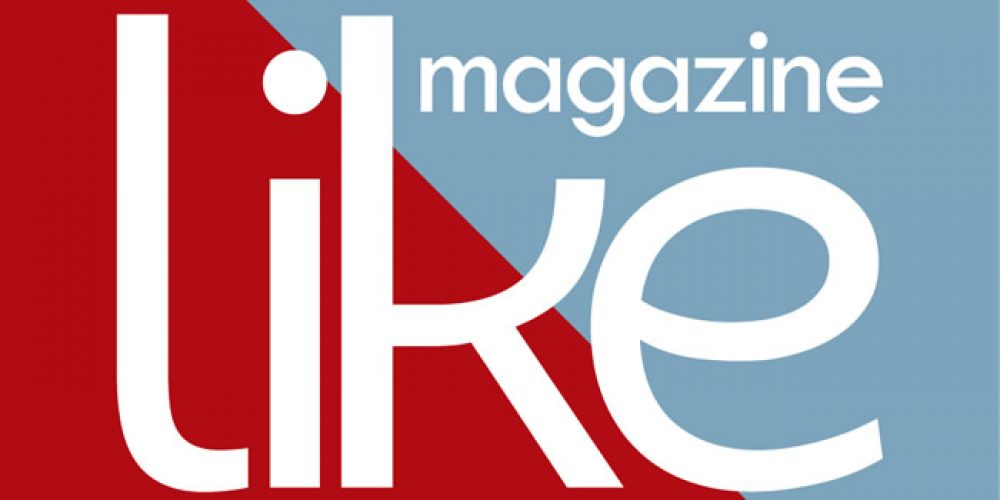 Nossos clientes presentes da edição de 1 ano da revista Like