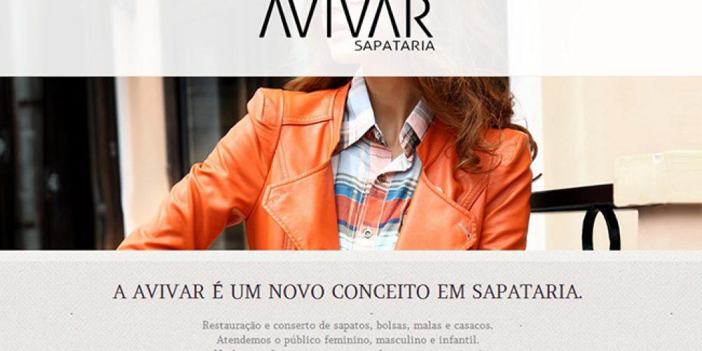Lançamento de novo site – Avivar Sapataria