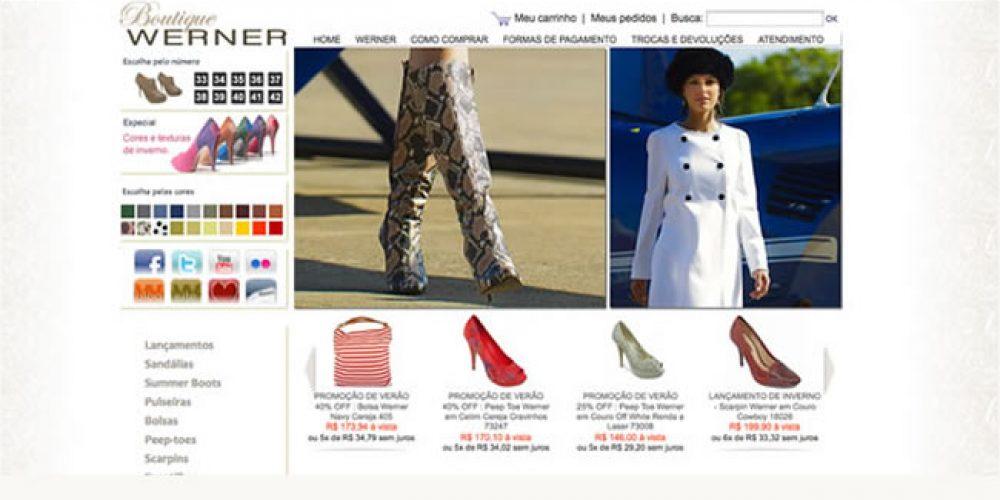 Werner – um luxo de sapatos para mulheres lindas – Boutique Werner online – E-commerce