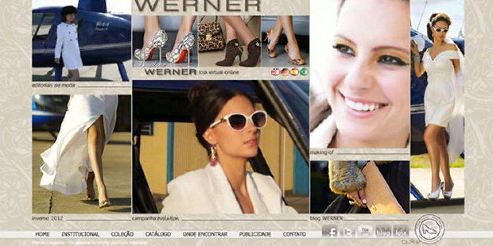 Um projeto inteiro é outra coisa – Werner Calçados – Inverno 2012