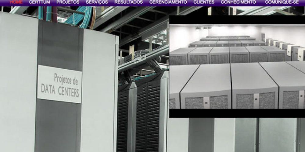 Certtum – estrutura empresarial capaz de gerar soluções avançadas de Automação, Cabeamento Estruturado, CFTV, além de uma área de projeção