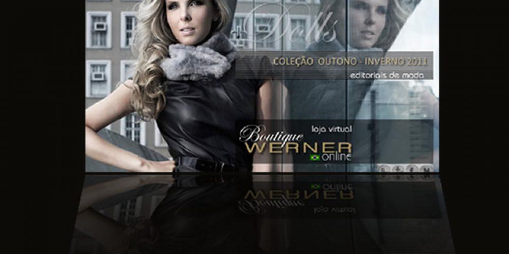 Werner Calçados – site totalmente internacional e Coleção Outono Inverno 2011