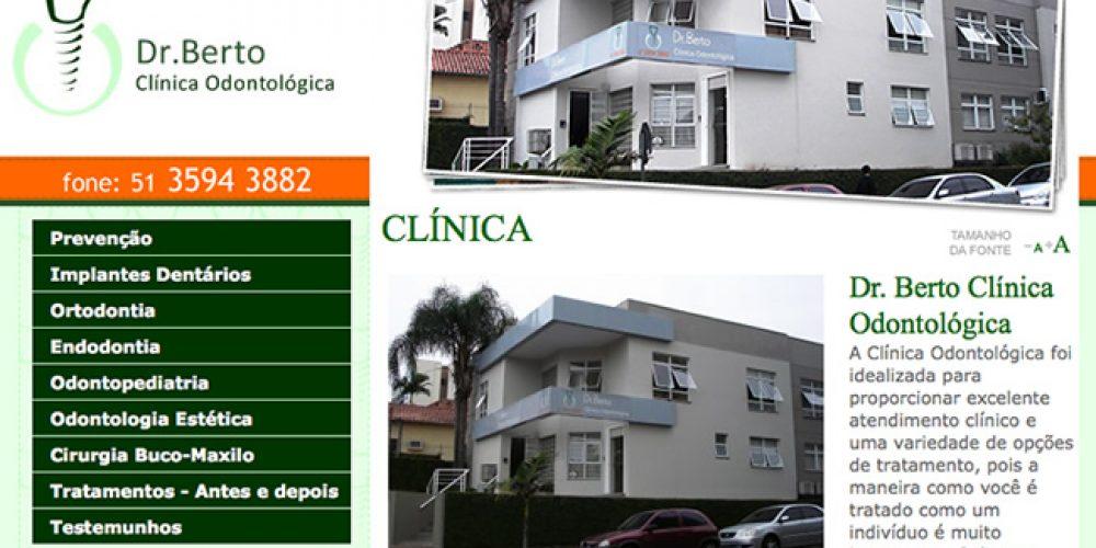 Dr. Berto Clínica Odontológica – um atendimento especial e extremamente profissional em Novo Hamburgo