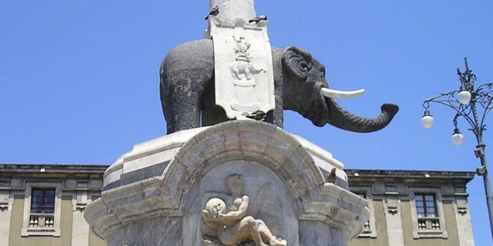 O elefante de Catânia