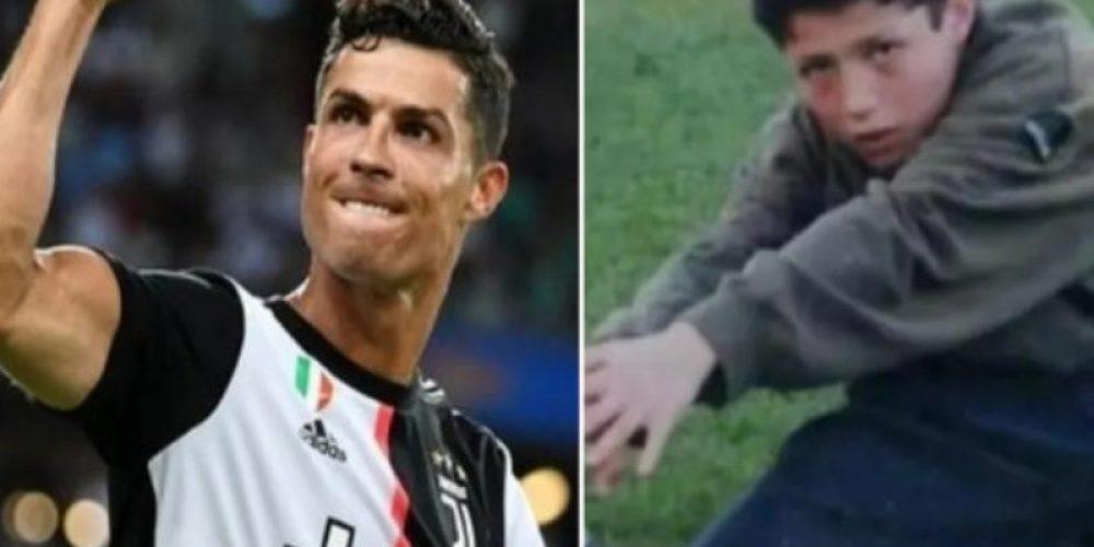 Cristiano Ronaldo procura mulher que o alimentou quando não tinha o que comer
