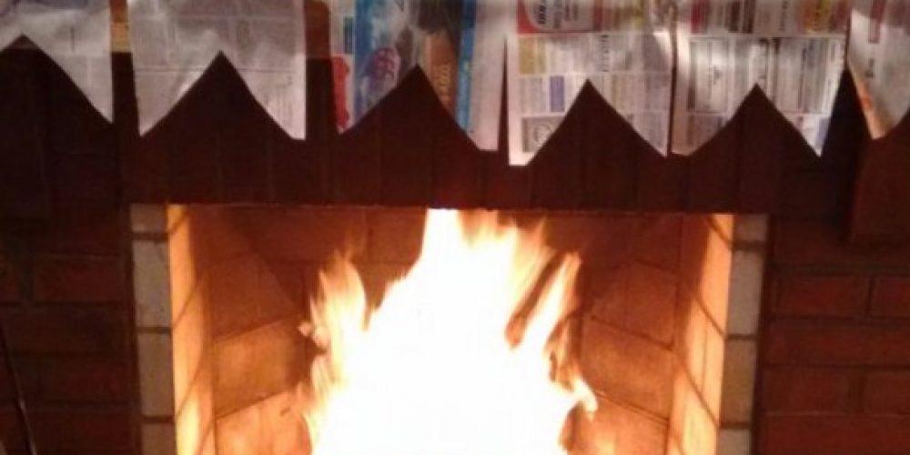 No calor da fogueira