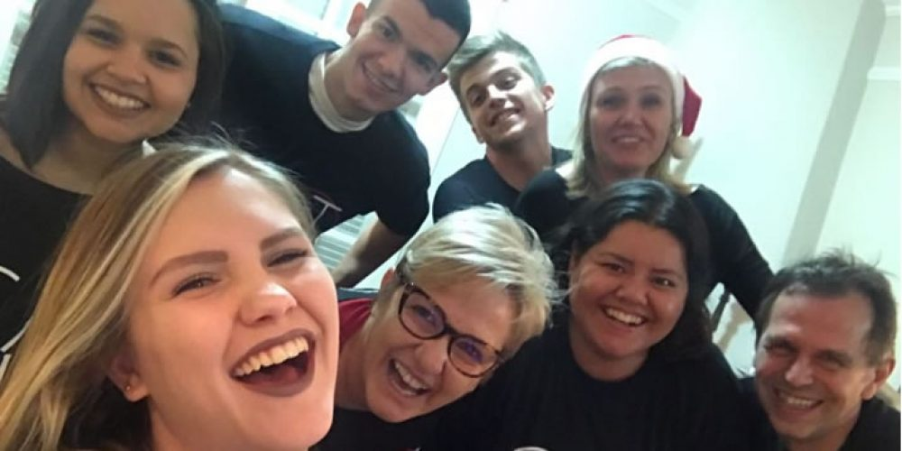 Noite feliz – Natal da agência