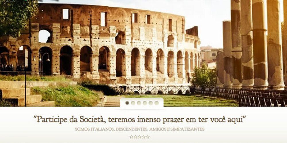 Società Italiana Santa Lucia ganha novo site pelos 20 anos de existência