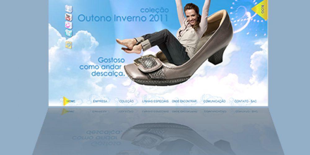 A Coleção Inverno 2011 Usaflex tem como tema: Gostoso como andar descalça – conheça no novo site – inverno 2011 – saiba o que é o original conforto em calçados
